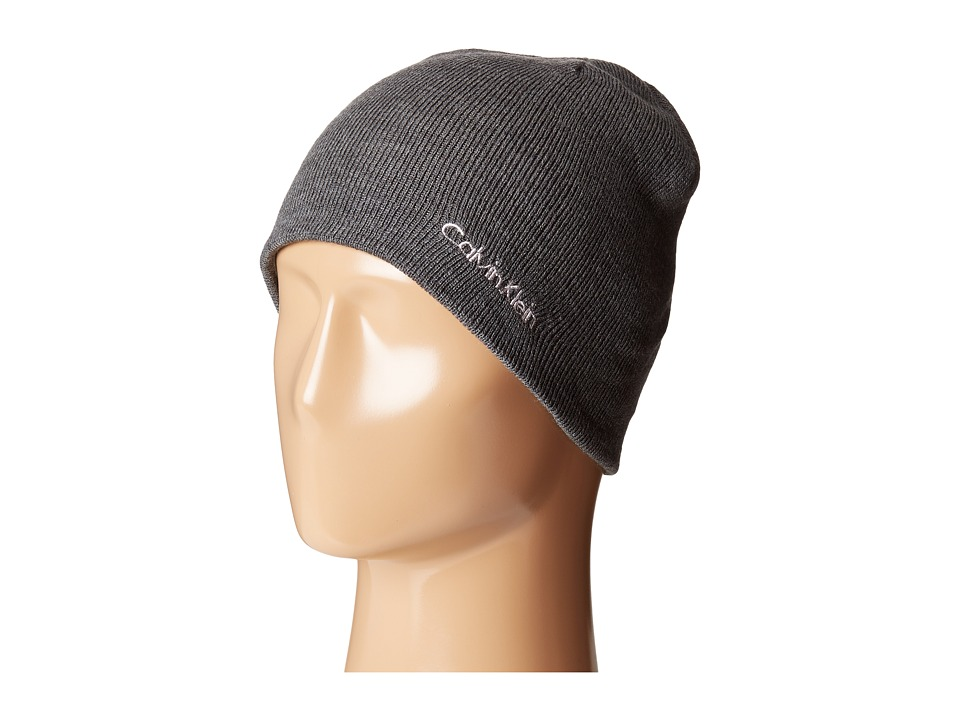 Calvin Klein - Solid Reversible Hat (Dove) Caps