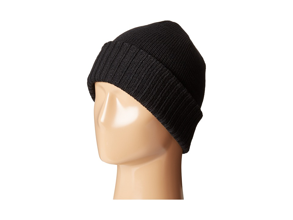 Calvin Klein - Jersey Knit Hat (Black) Caps
