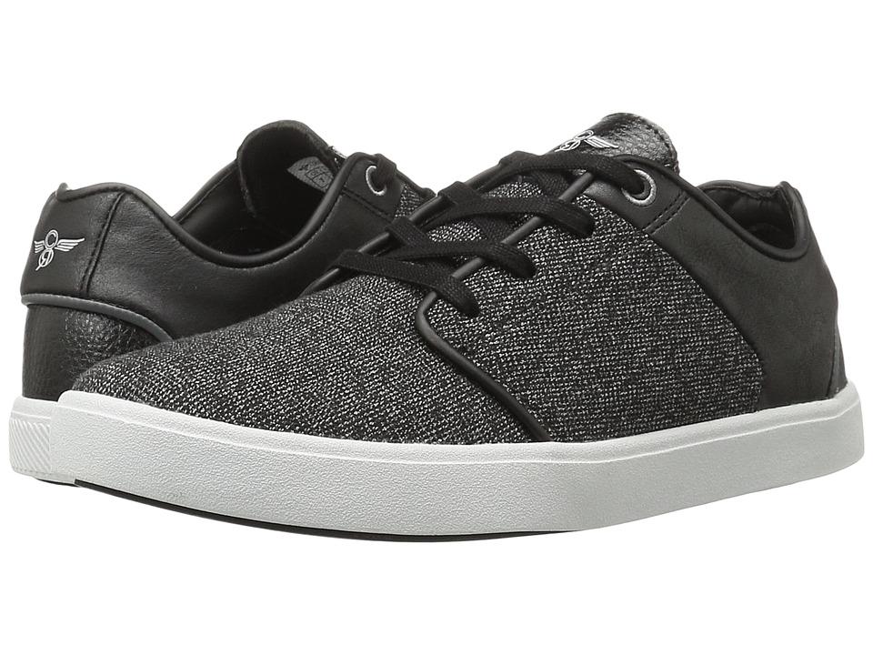 Creative Recreation - Santos (Black/Grey Suit) Men's Lace up casual Shoes