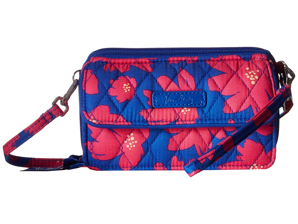 Vera Bradley - All in One Crossbody for iPhone 6+ (Art Poppies) Clutch Handbags