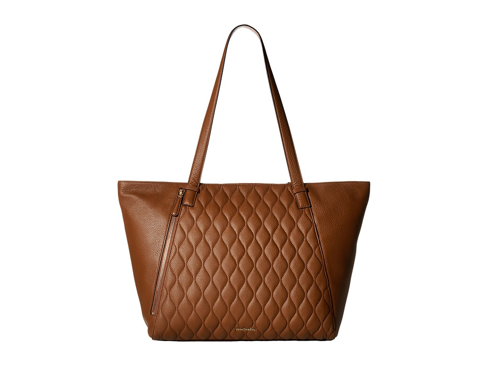 Vera Bradley - Avery Tote (Cognac) Tote Handbags