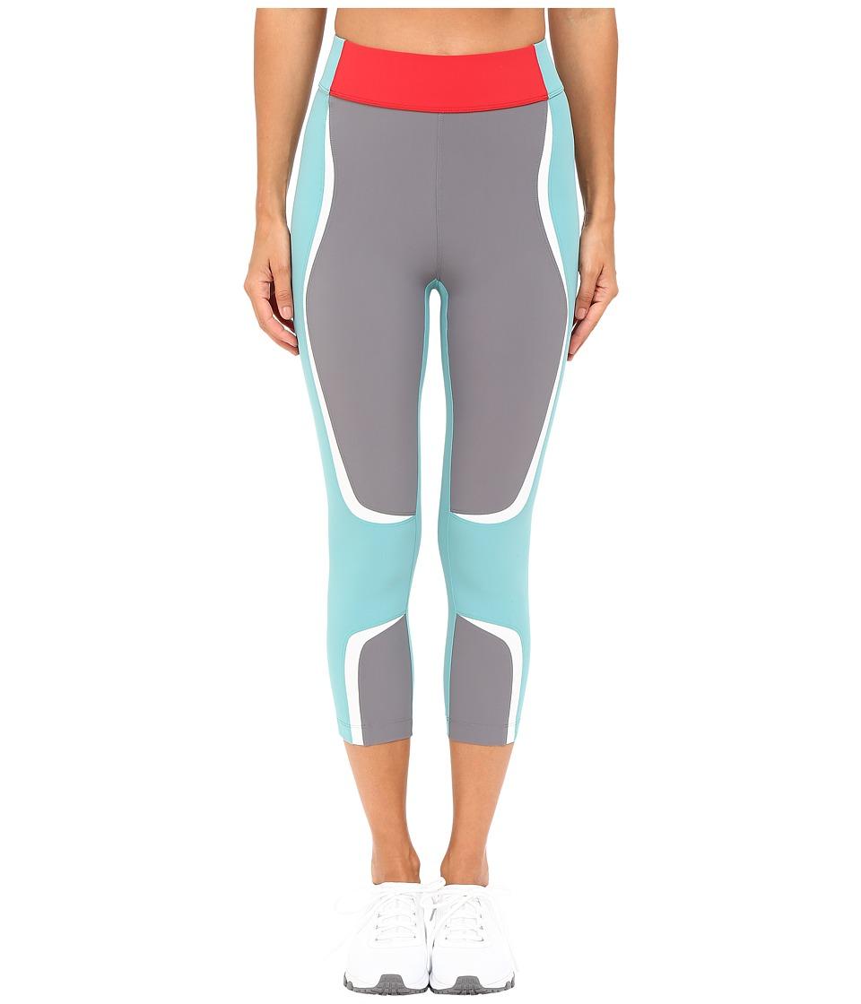 NO KA'OI - Kani Capri Leggings (Aloe/Red/Smoke/Ice) Women's Casual Pants