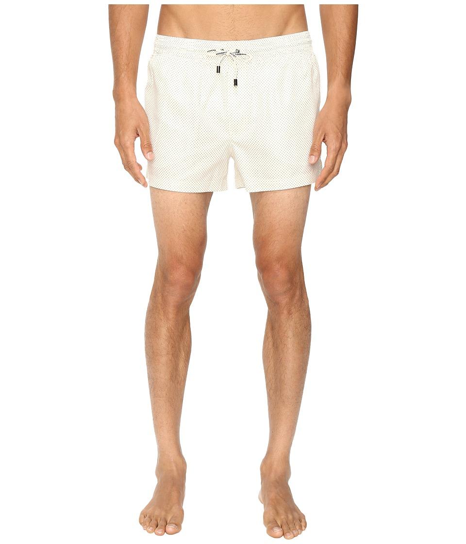 Dolce & Gabbana - M4A06TFSMZY (Cream Print) Men's Swimwear
