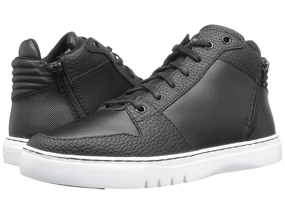 Creative Recreation - Adonis Mid (Black/White) Men's Lace up casual Shoes