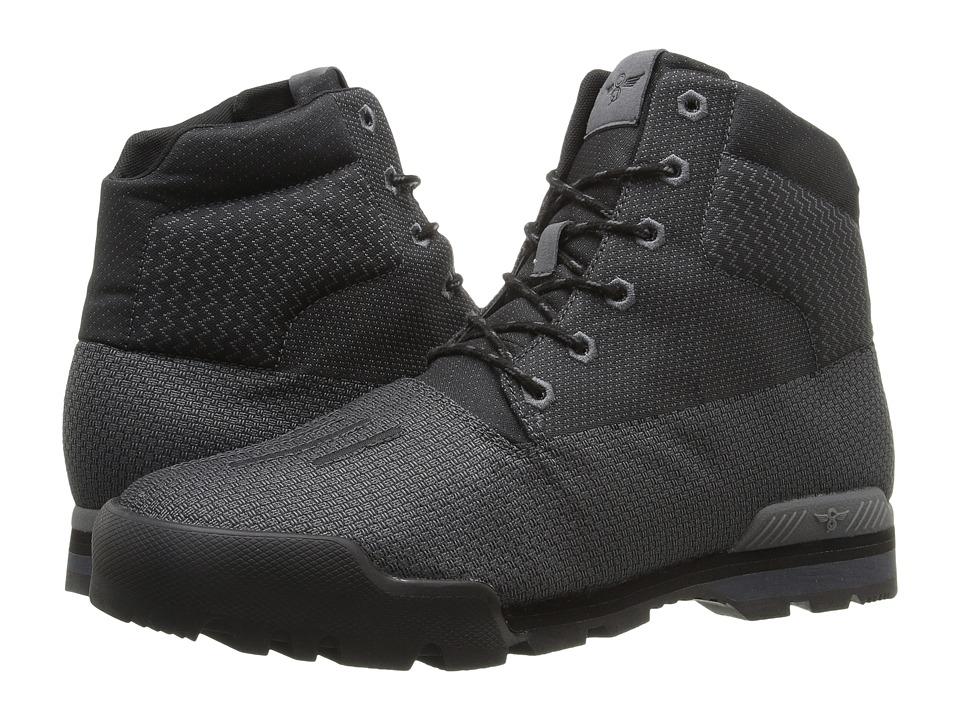 Creative Recreation - Torello (Military Black/Primary Red) Men's Shoes