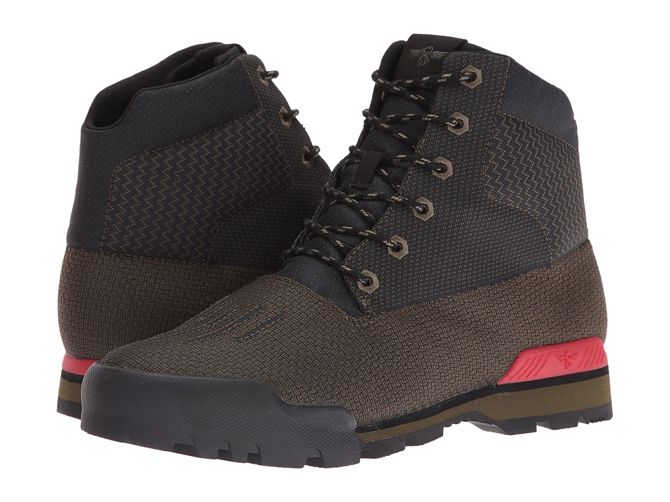 Creative Recreation - Torello (Military Black/Primary Red) Men's Shoes
