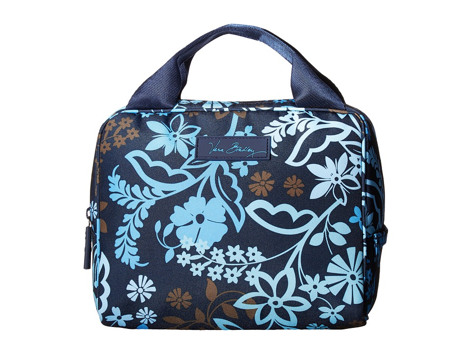 Vera Bradley - Lighten Up Lunch Cooler (Java Floral) Handbags