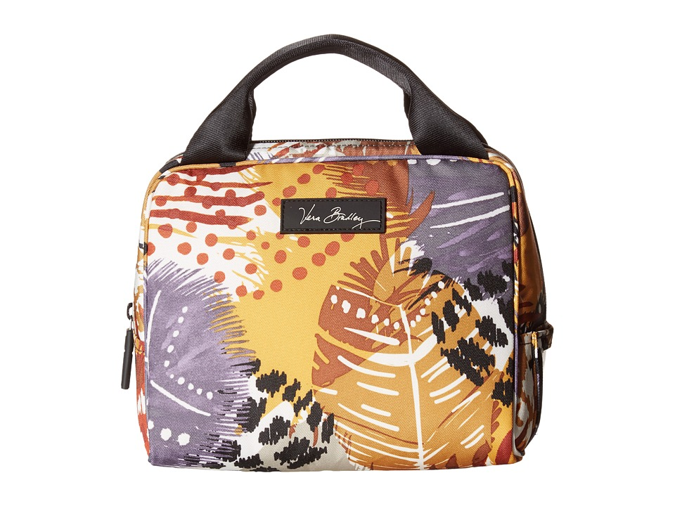Vera Bradley - Lighten Up Lunch Cooler (Painted Feathers) Handbags