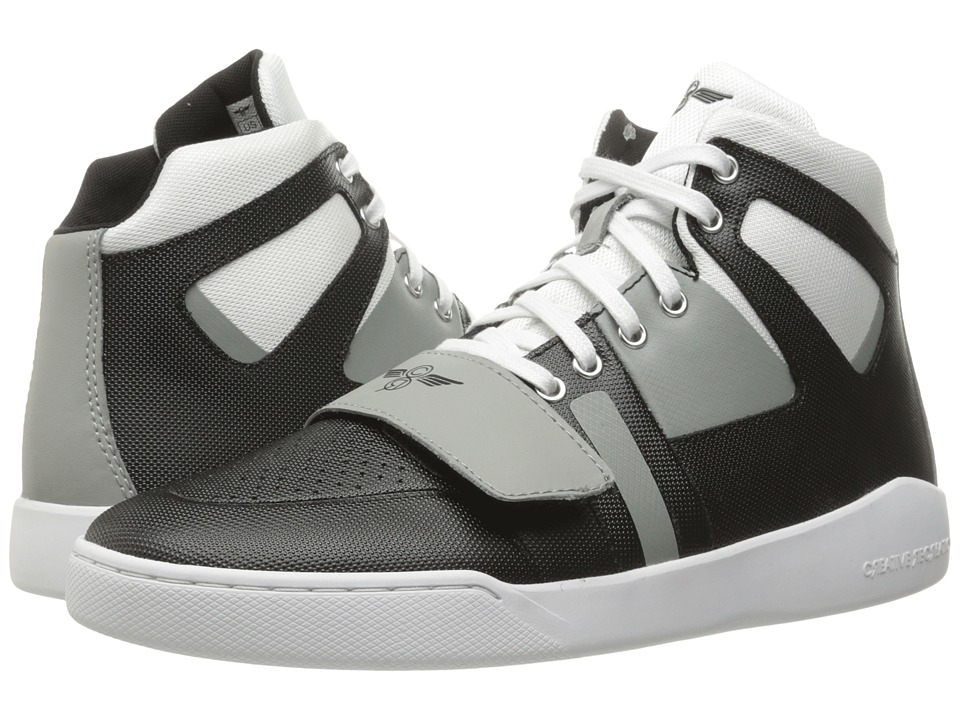 Creative Recreation - Manzo (White/Black/Grey) Men's Shoes