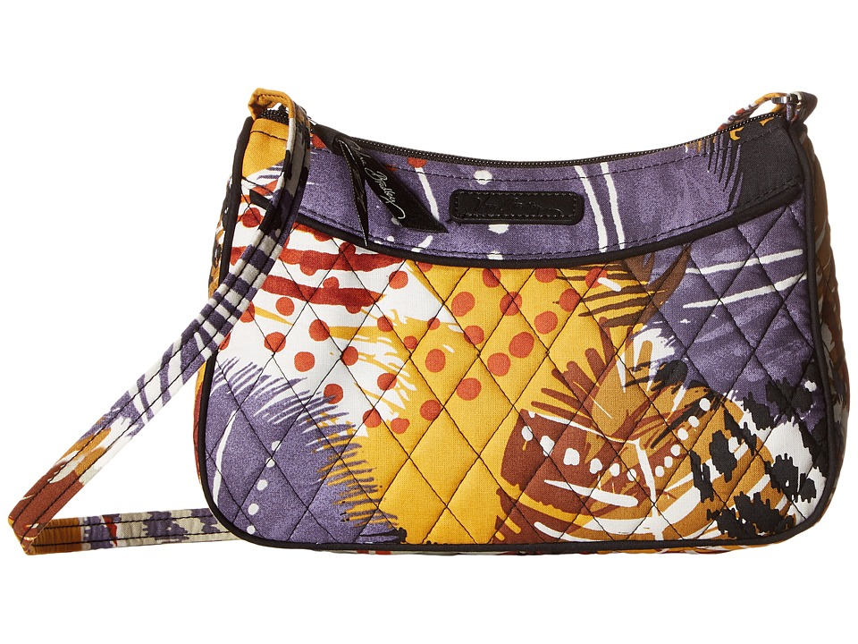 Vera Bradley - Little Crossbody (Painted Feathers) Cross Body Handbags