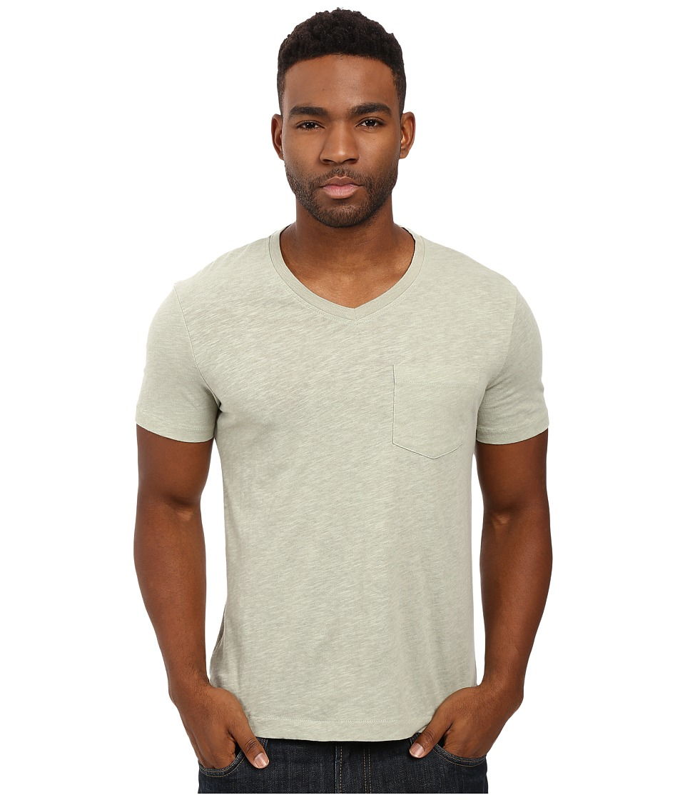 Original Penguin - Johnson V-Neck Tee (Desert Sage) Men's T Shirt
