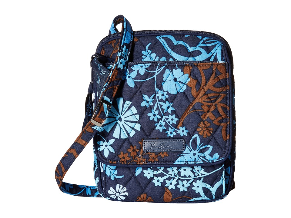 Vera Bradley - Mini Hipster (Java Floral) Cross Body Handbags
