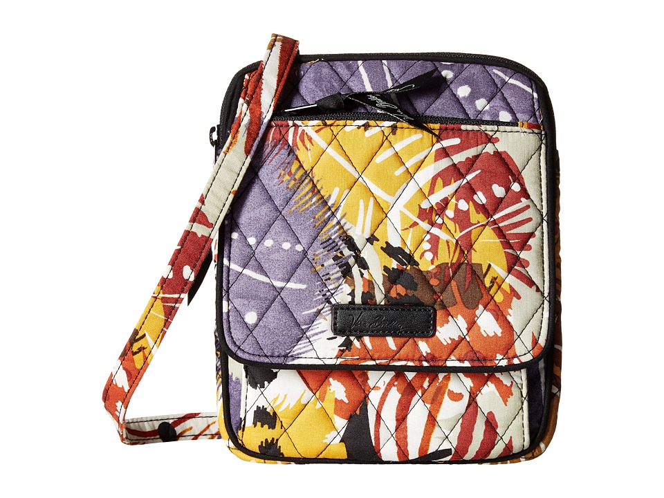Vera Bradley - Mini Hipster (Painted Feathers) Cross Body Handbags
