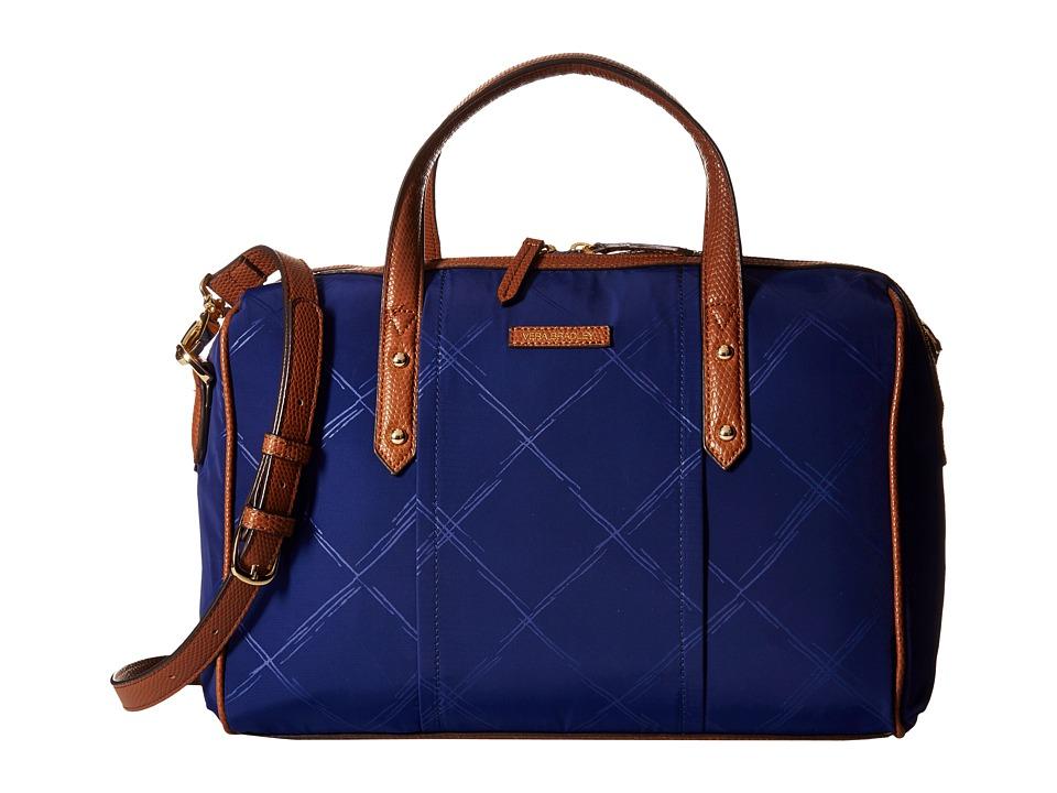 Vera Bradley - Preppy Poly Marlo Satchel (Evening Sky) Satchel Handbags