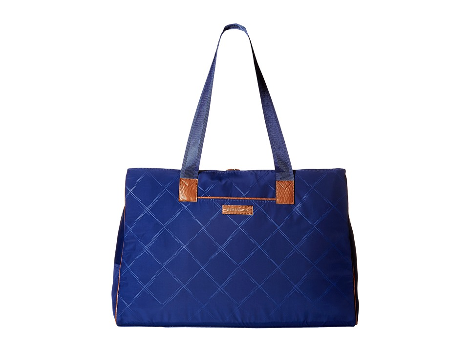 Vera Bradley - Preppy Poly Triple Travel Bag (Evening Sky) Handbags