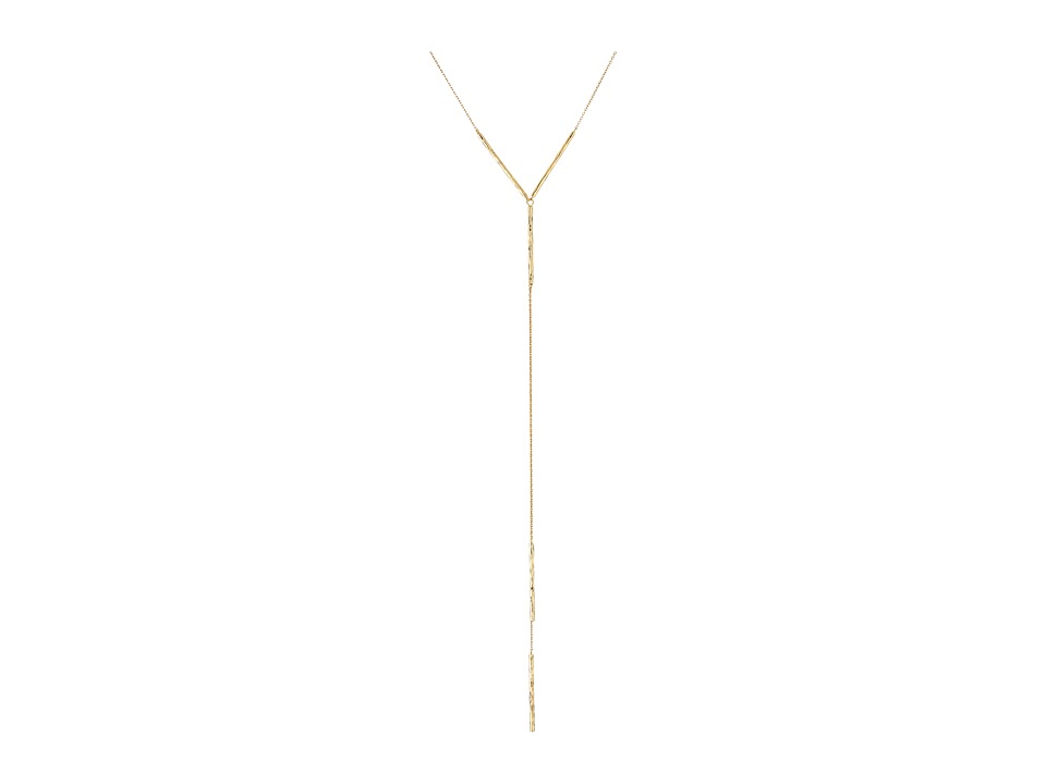 gorjana - Kylie Lariat Necklace (Gold) Necklace