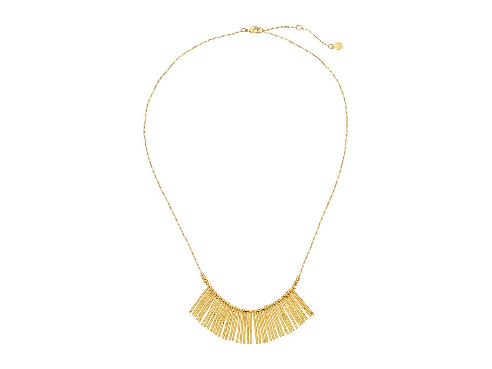 gorjana - Kylie Fan Necklace (Gold) Necklace