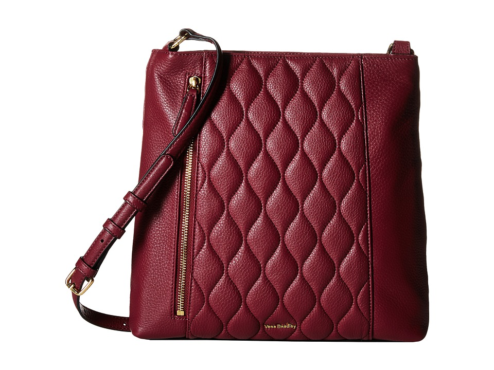 Vera Bradley - Quilted Molly Crossbody (Claret) Cross Body Handbags