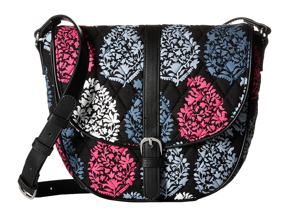 Vera Bradley - Slim Saddle Bag (Northern Lights) Handbags