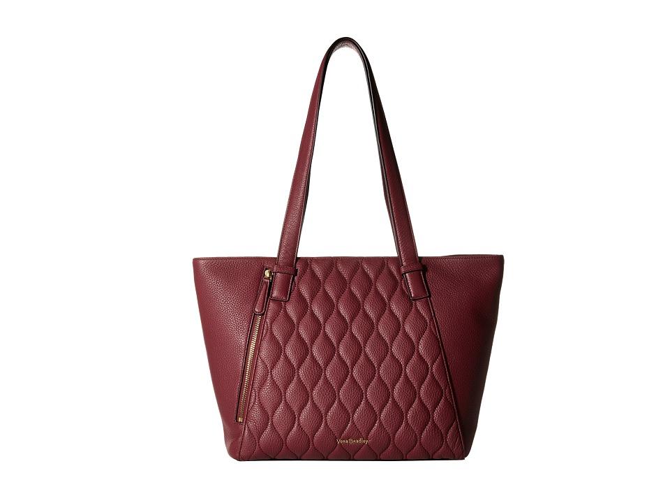 Vera Bradley - Small Avery Tote (Claret) Tote Handbags