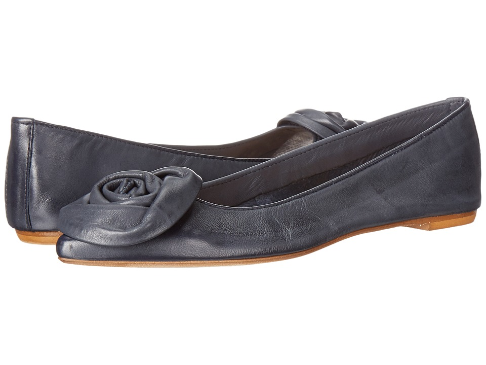 Massimo Matteo - Daniela (Navy) Women's Dress Flat Shoes