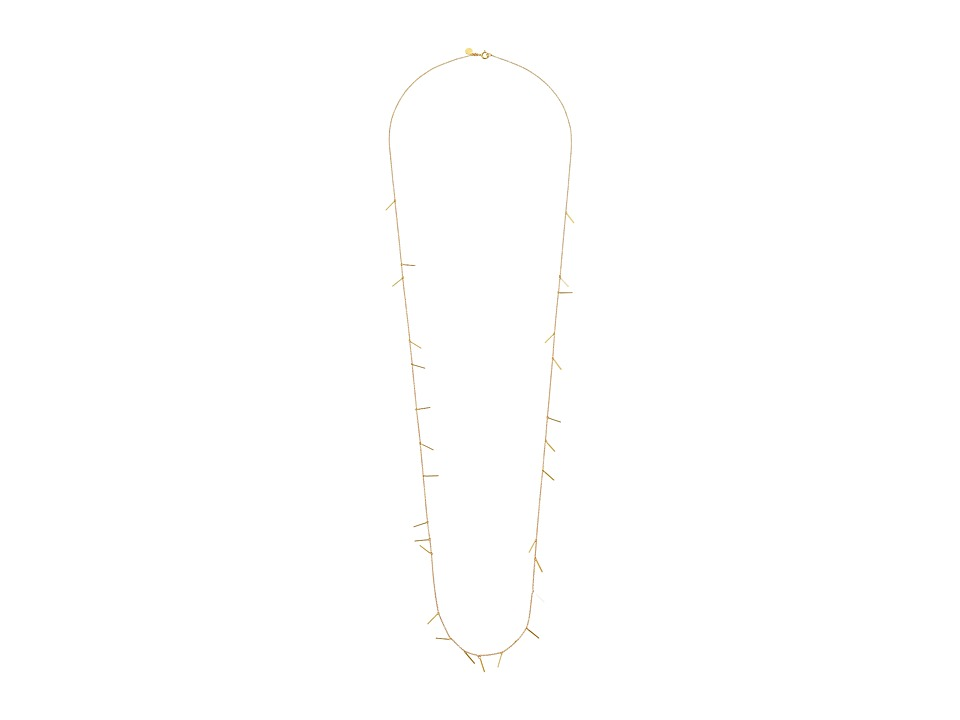 gorjana - Marmont Mini Wrap Necklace (Gold) Necklace