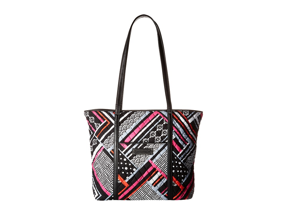 Vera Bradley - Small Trimmed Vera (Northern Stripes) Tote Handbags