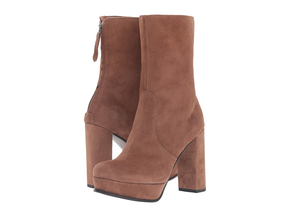 Kennel & Schmenger Mid Height Platform Boot (Cuir Suede) Women