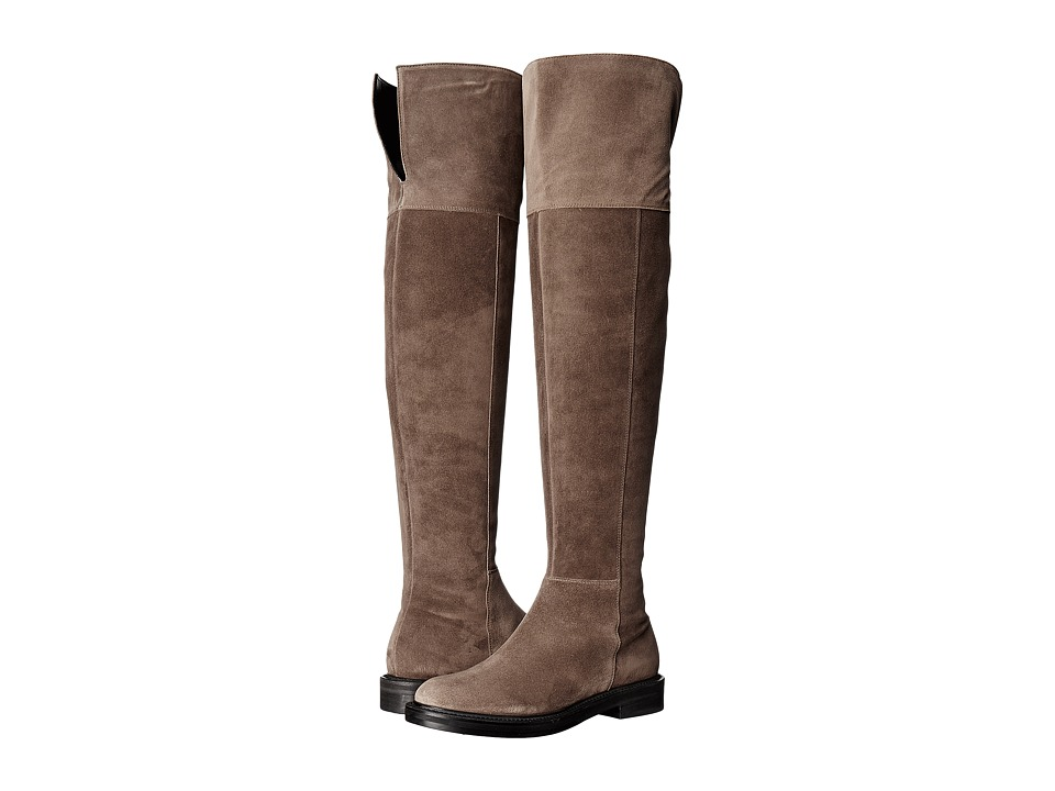 Kennel & Schmenger - Flat Riding Boot (Tundra Suede) Women's Boots