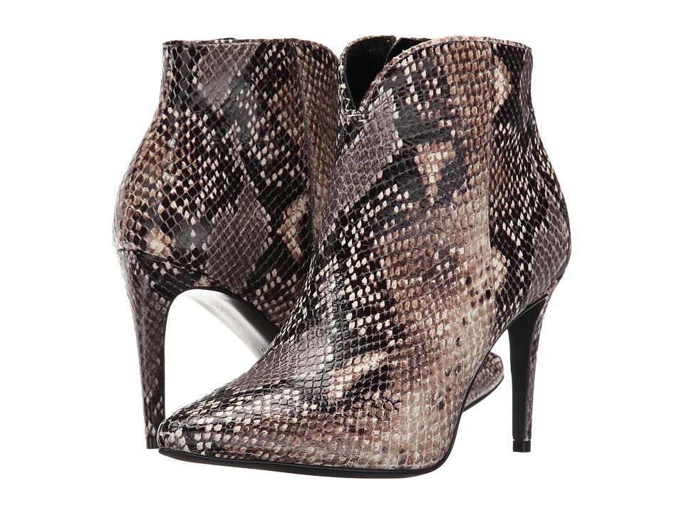 Kennel & Schmenger - Snake Print Bootie (Camel Samba Snake) Women's Boots