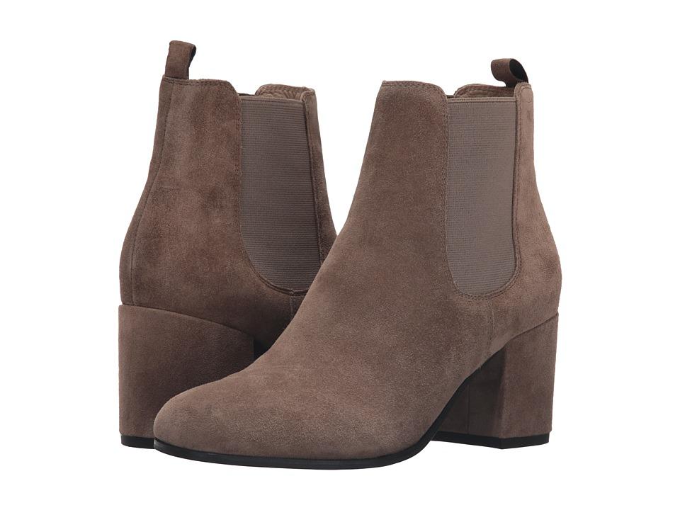 Kennel & Schmenger - Chelsea Mid Heel Bootie (Tundra Suede) Women's Boots