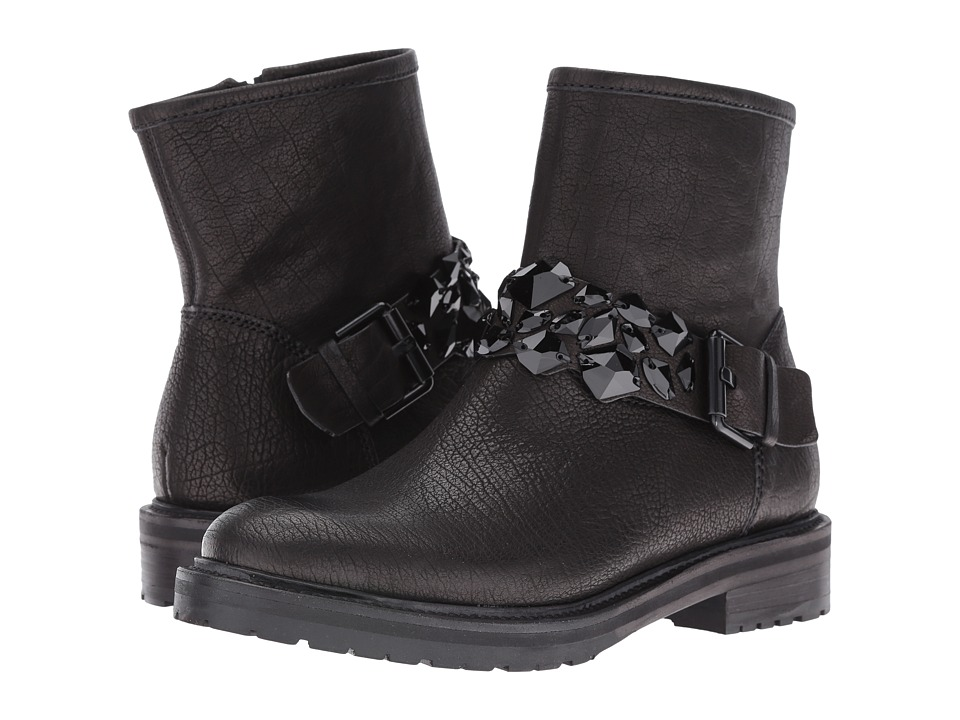 Kennel & Schmenger - Jewel Combat Boot (Schwarz Black) Women's Boots