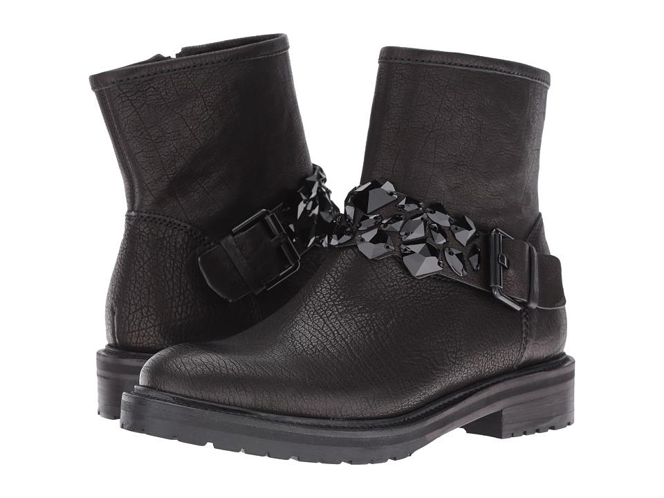 Kennel & Schmenger - Jewel Combat Boot (Schwarz Black) Women's Boots