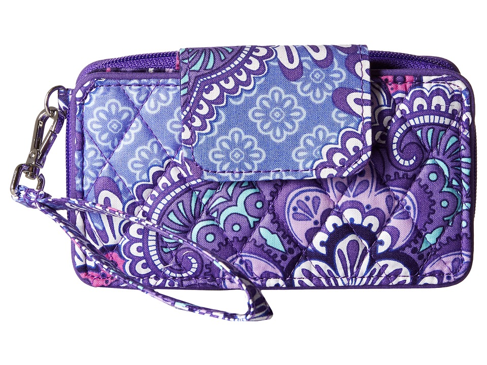 Vera Bradley - Smartphone Wristlet for iPhone 6 (Lilac Tapestry) Clutch Handbags
