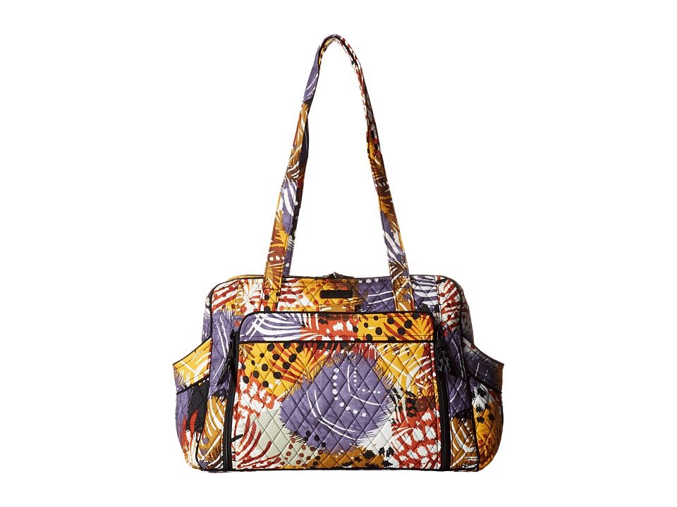 Vera Bradley - Stroll Around Baby Bag (Painted Feathers) Diaper Bags