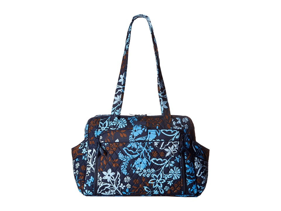 Vera Bradley - Stroll Around Baby Bag (Java Floral) Diaper Bags