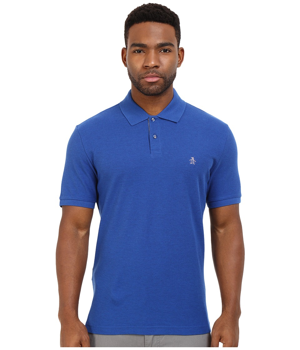Original Penguin - Daddy-O Polo (True Blue) Men's Short Sleeve Pullover