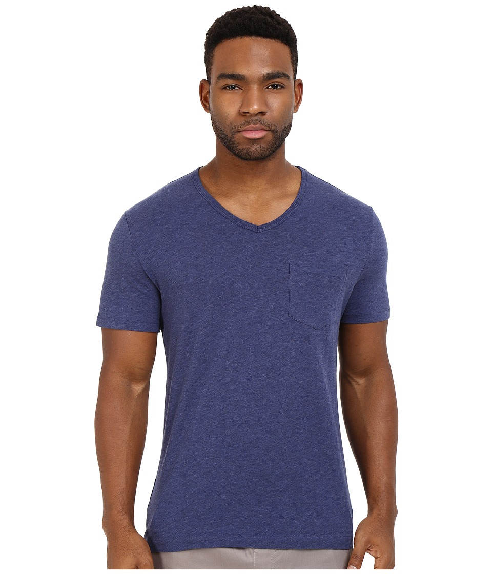 Original Penguin - Bing V-Neck (Deep Cobalt) Men's T Shirt