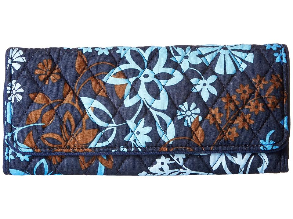 Vera Bradley - Trifold Wallet (Java Floral) Wallet Handbags