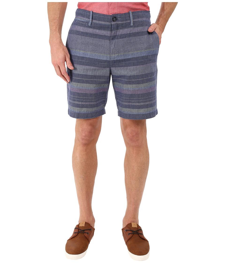 Original Penguin Dobby Neon Yarn-Dye Slim Shorts (True Blue) Men