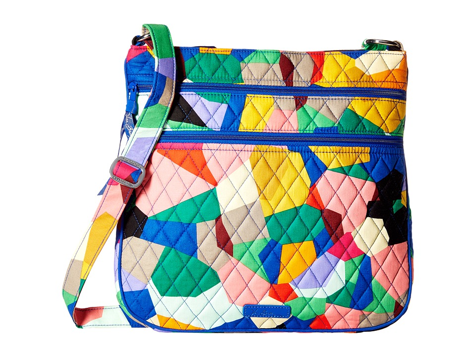 Vera Bradley - Triple Zip Hipster (Pop Art) Cross Body Handbags