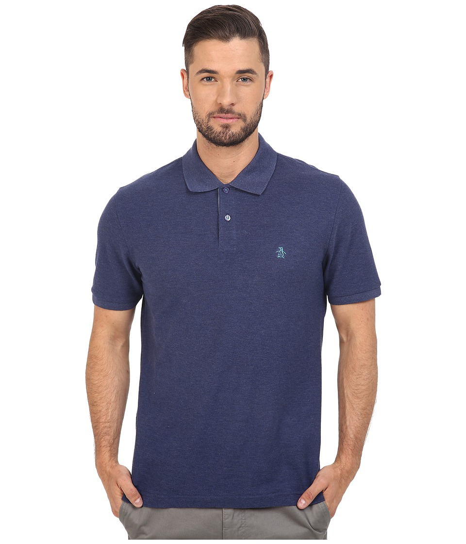 Original Penguin - Daddy-O Polo (Deep Cobalt) Men's Short Sleeve Pullover