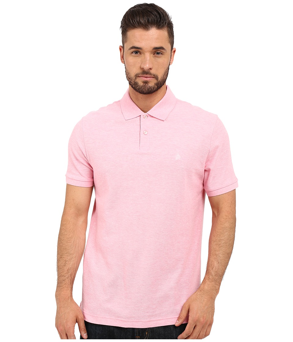 Original Penguin - Daddy-O Polo (Pink Icing) Men's Short Sleeve Pullover