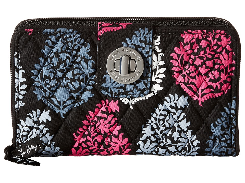 Vera Bradley - Turn Lock Wallet (Northern Lights) Clutch Handbags