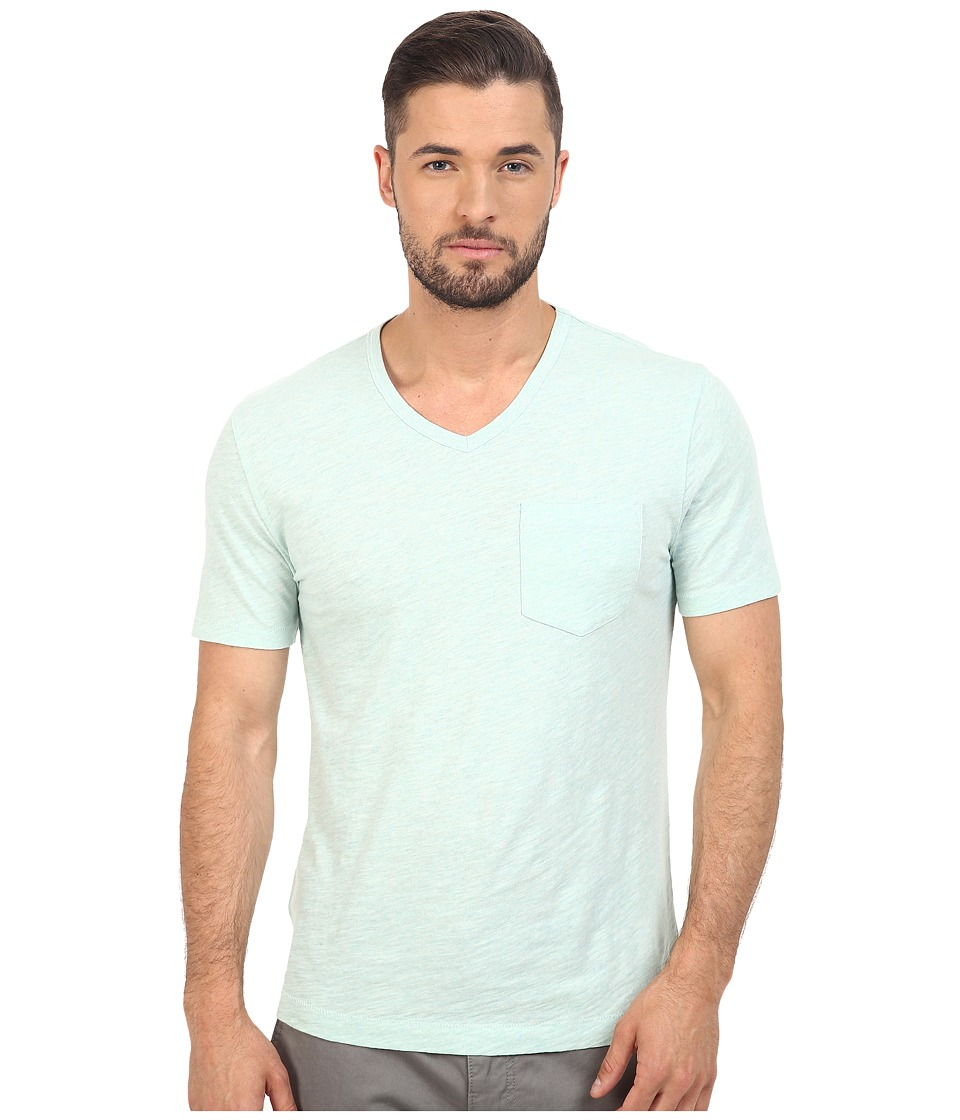 Original Penguin - Bing V-Neck (Soothing Sea) Men's T Shirt