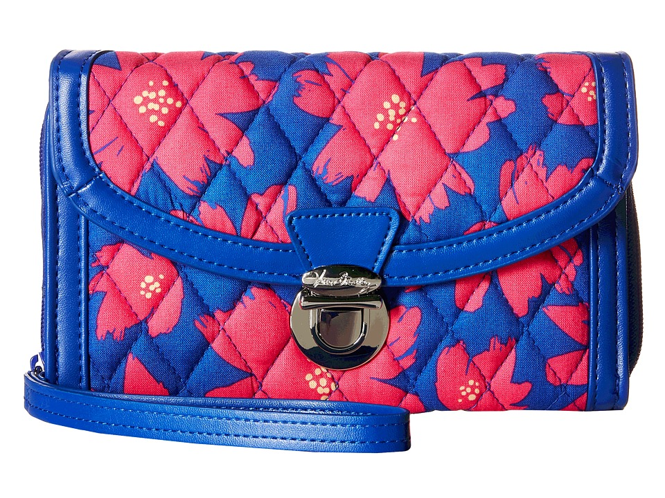 Vera Bradley - Ultimate Wristlet (Art Poppies) Clutch Handbags