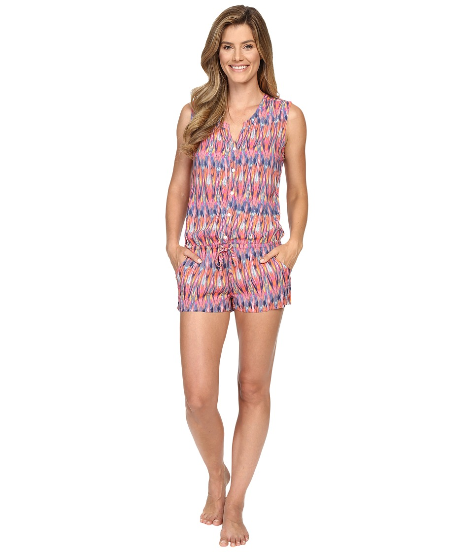 P.J. Salvage - Island Vibes Sleep Romper (Multi) Women's Jumpsuit & Rompers One Piece