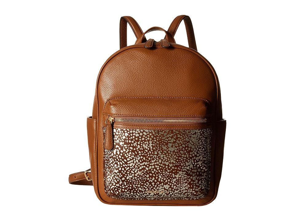 Vera Bradley - Leighton Backpack (Downtown Dots) Backpack Bags