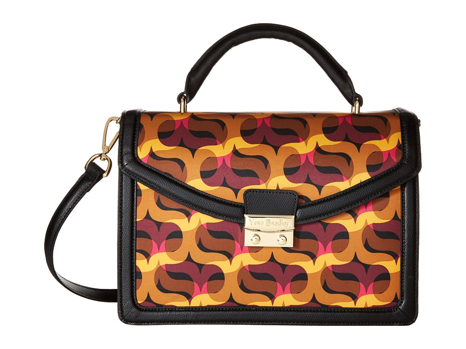 Vera Bradley - Lydia Satchel (Modern Lights) Satchel Handbags