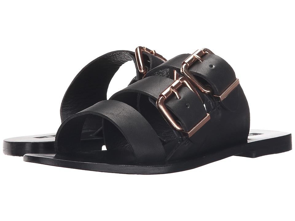 Sol Sana - Foster (Black/Black) Women's Slide Shoes
